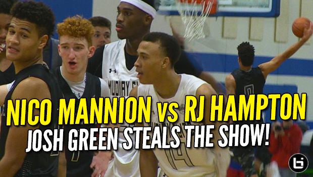 Nico Mannion vs RJ Hampton! Josh Green 37 POINTS Steals the Show at UAA!