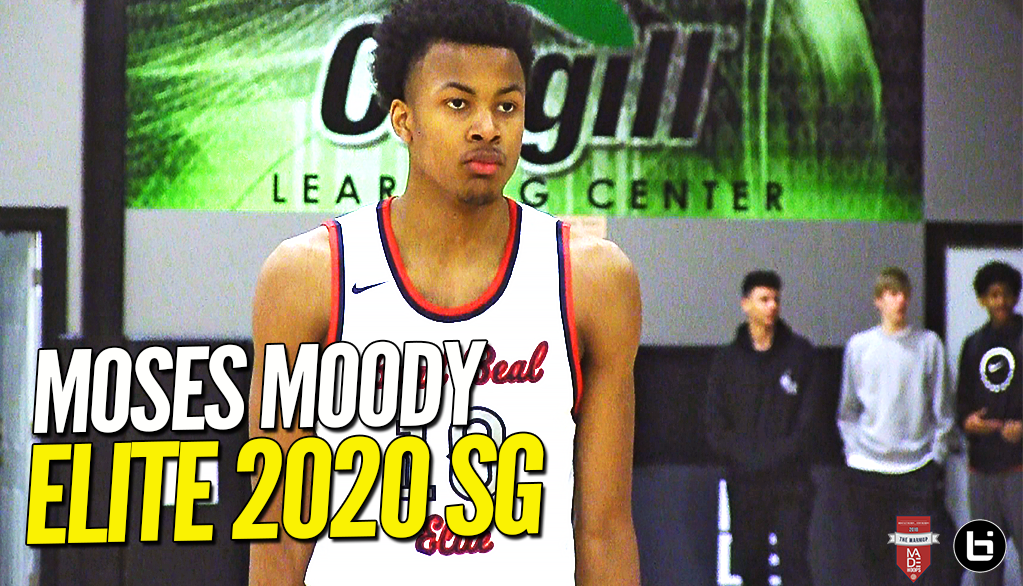 2020 Moses Moody is NEXT UP in Arkansas!! Elite Shooting Guard Highlights at Made Hoops!