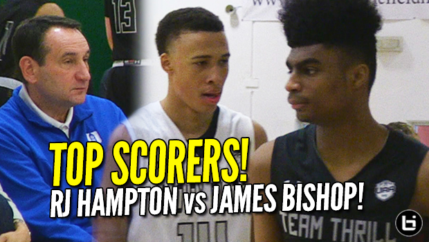RJ Hampton vs James Bishop! Duke watches UAA Top Scorers in Dallas! Full Highlights!