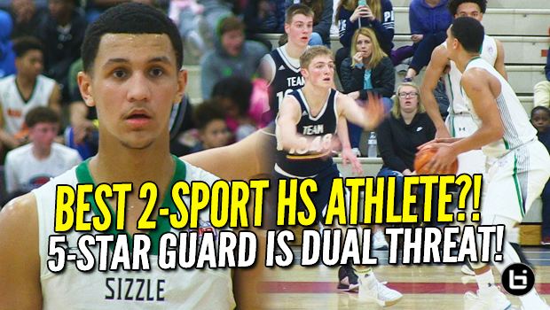 Best 2-Sport High School Athlete? Jalen Suggs is Ultimate DUAL THREAT! NY2LA Recap!