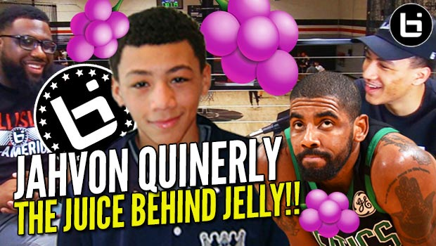 d65a2d2ad983 Jahvon Quinerly  Business Behind JELLY FAM!! LEBRON JELLY + Kyrie Irving  Connection ...