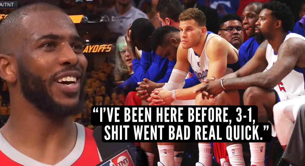 Remembering The Clippers Epic Playoff Collapse Against the Rockets in 2015