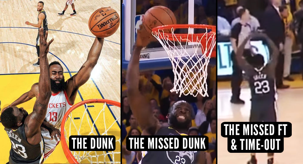 Every Angle Of Every Lowlight Of Draymond Green's Rough Night In GM4