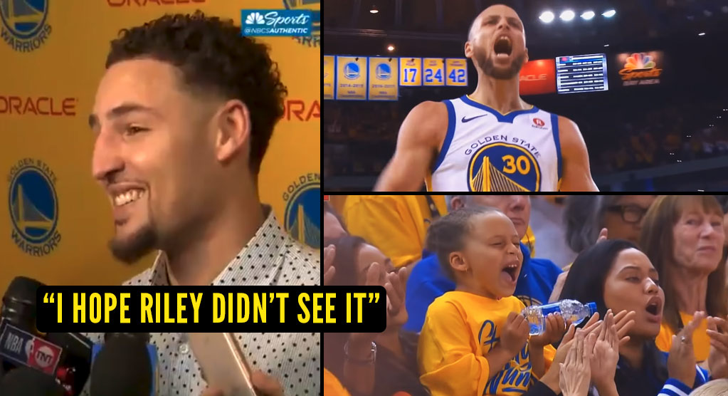 "Klay Thompson & Steph Curry's Mom on Steph Yelling ""This Is My FKN House"" During Perfect Quarter"