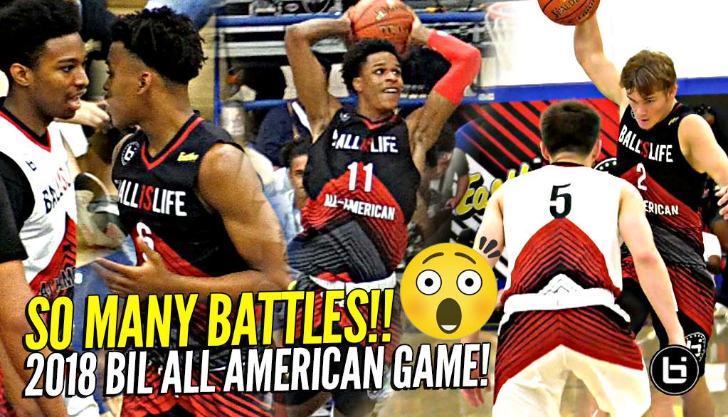 2018 Ballislife All American Game FULL Highlights!!