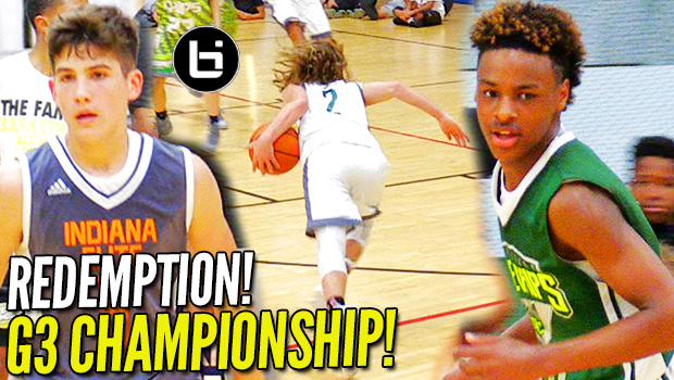 REDEMPTION!!! LeBron James Jr. & Blue Chips CHAMPIONSHIP GAME v. Indiana Elite!