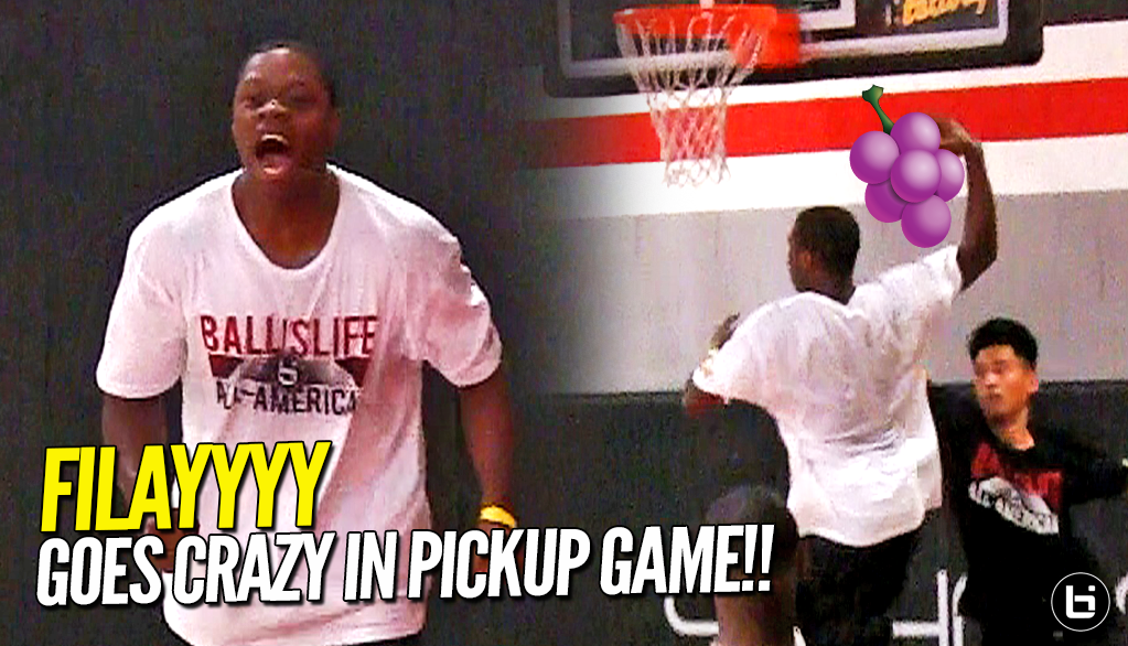 9467646b02da FILAYYYY Goes CRAZY in Pickup Game at BIL AAG!! Shows Off JELLY