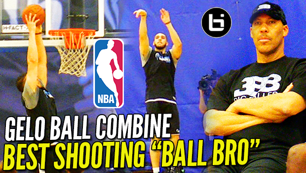 Is LiAngelo Ball GOOD ENOUGH?! NBA Pre Draft Combine Shooting Performance!
