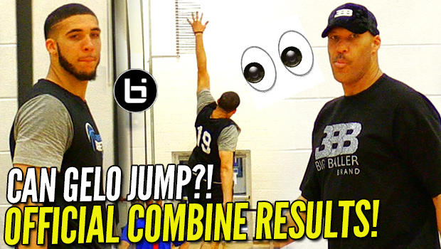LiAngelo Ball OFFICIAL COMBINE TESTING RESULTS! 35″+ VERTICAL?! NBA Pre-Draft!