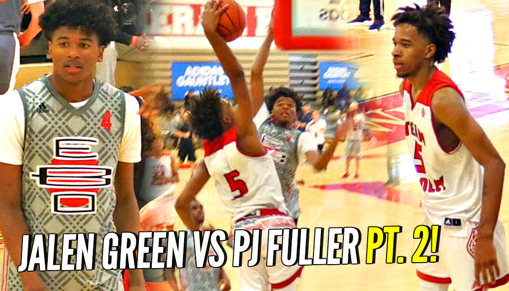 Jalen Green vs PJ Fuller Part 2!!! #1 vs #2 Shooting Guards Face OFF Again!
