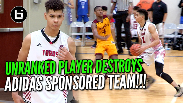 UNRANKED PLAYER DESTROYS ADIDAS SPONSORED TEAM!