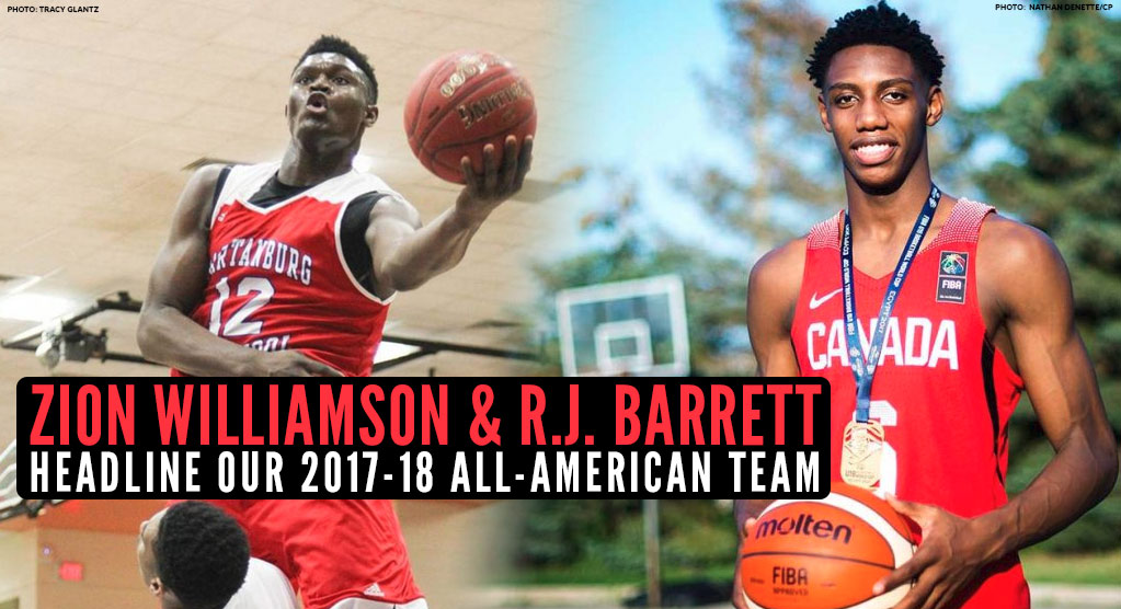 2017-18 High School All-American Team Announced!