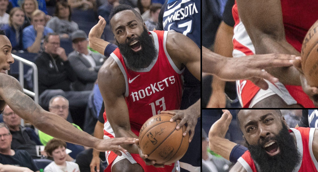 The Art Of Flopping By James Harden