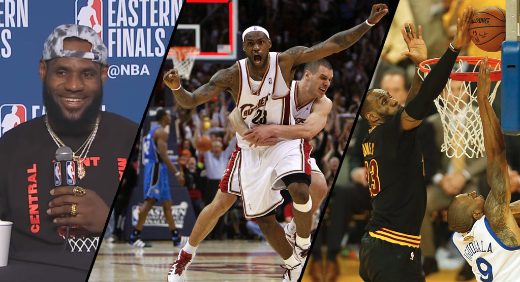 12 Minutes of LeBron's Most Clutch Playoff Moments
