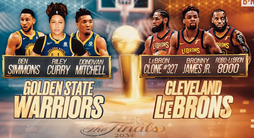 Hilarious NBA Finals Preview For The Next 30 Years
