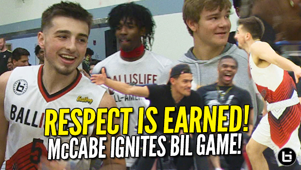 Jordan McCabe Impresses Trae Young! Full McCabe Ballislife All-American Highlights!