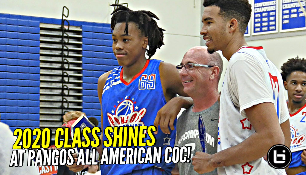 2018 Pangos All-American Camp LOADED with Underclassmen!