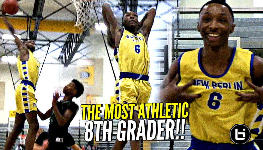 MOST ATHLETIC 8th GRADER?! Devontes Cobbs Has Special Talent!