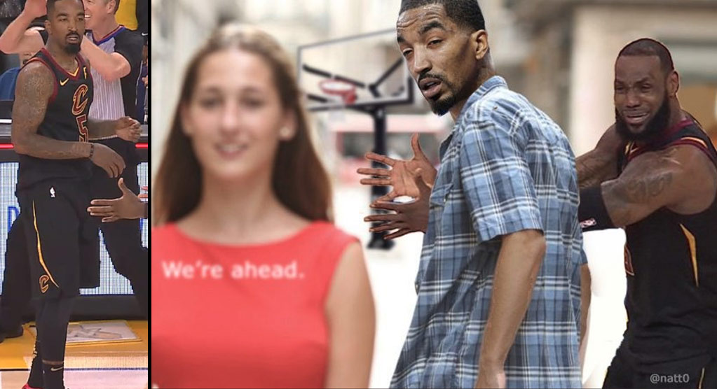 The Best Of The Internet Roast Of JR Smith In GM1 Of The 2018 NBA Finals