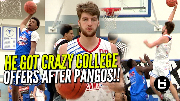 DREW TIMME GOT CRAZY COLLEGE OFFERS AFTER PANGOS! Ballislife Highlights