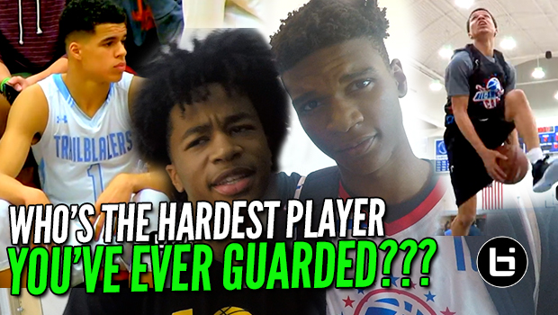 WHO'S THE HARDEST PLAYER YOU'VE EVER GUARDED? Pangos All American Edition