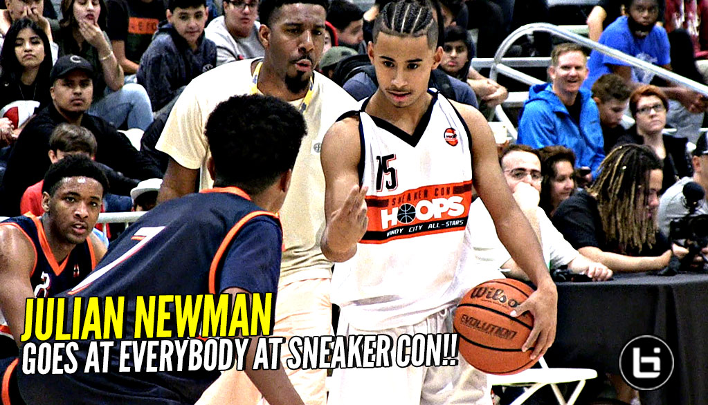 Julian Newman GOES AT EVERYBODY at Sneaker Con Classic! Wins MVP!