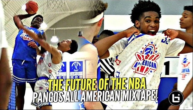 Meet The Future of Basketball! Pangos All American Camp Mixtape!