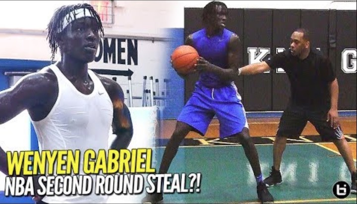 2ND ROUND STEAL!? Wenyen Gabriel NBA Pre-Draft Workout!