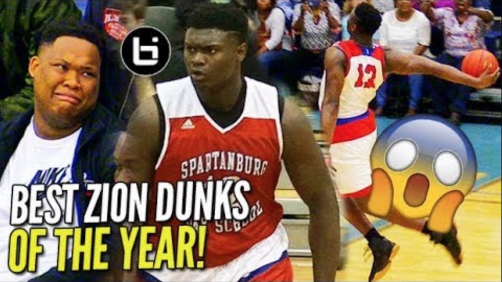 Zion Williamson BEST DUNKS OF SENIOR YEAR! WINDMILLS, 360s, BETWEEN THE LEGS! NOT Human!