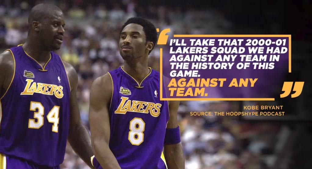 Would The Kobe & Shaq 2001 Lakers Beat The 2018 Warriors?