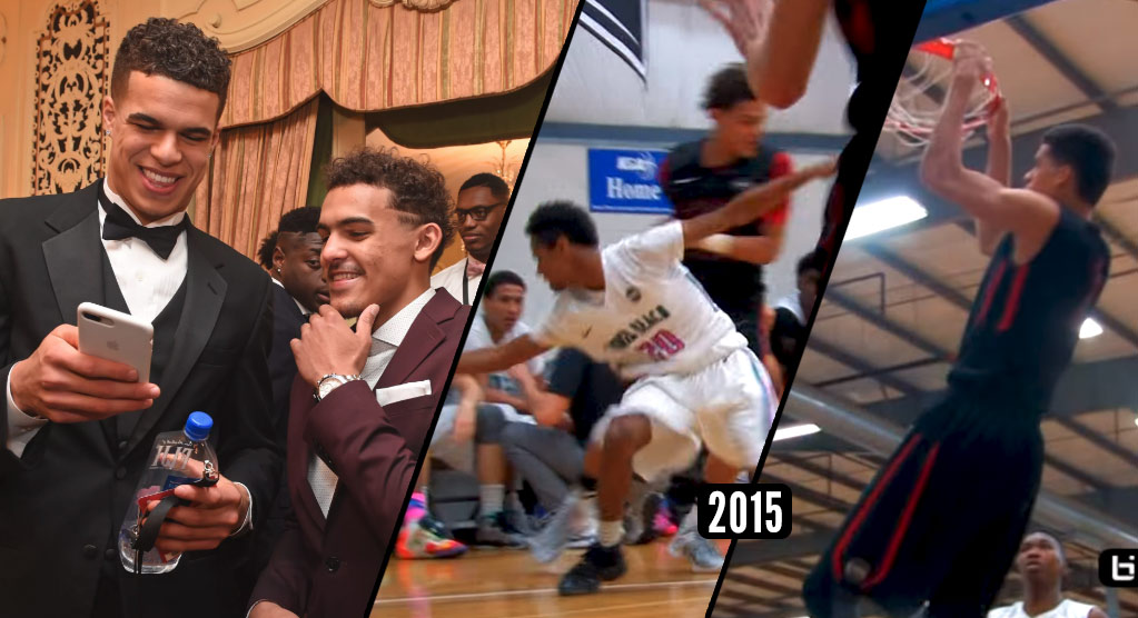 Michael Porter Jr & Trae Young Dominating AAU Together