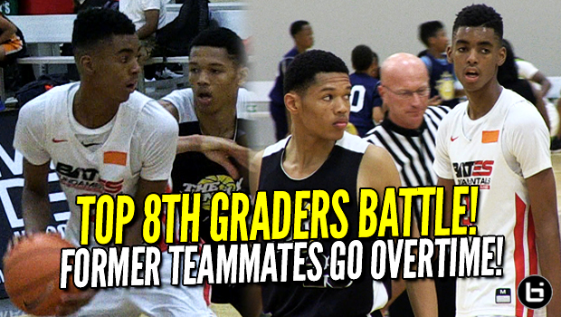 Emoni Bates vs Ty Rodgers! Top Middle Schoolers! Former Teammates Go To Overtime! Midwest Mania Highlights!