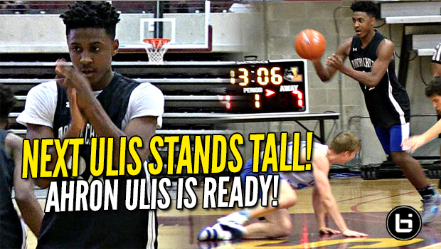 Ulis 2.0?! Tyler Ulis' Not So Little Bro Ahron Ulis Can Handle it AND SCORE!