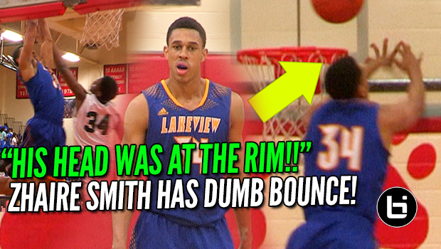 """HIS HEAD WAS AT THE RIM!!"" 76ers Zhaire Smith Best Athlete in NBA Draft?"