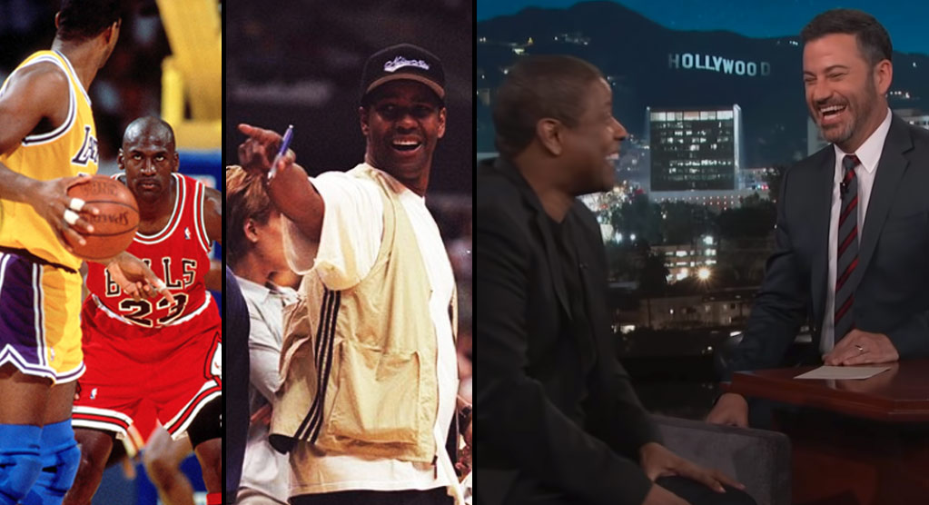Denzel Washington On LeBron To LA & Trying To Get Michael Jordan Drunk During The NBA Finals