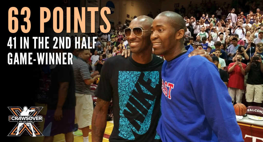 Remembering When Jamal Crawford Scored 63 With A Game-Winner In Front Of Kobe Bryant