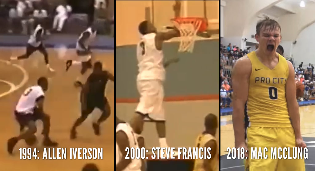 Memorable Kenner League Performances: From AI to Steve Francis to Mac McClung