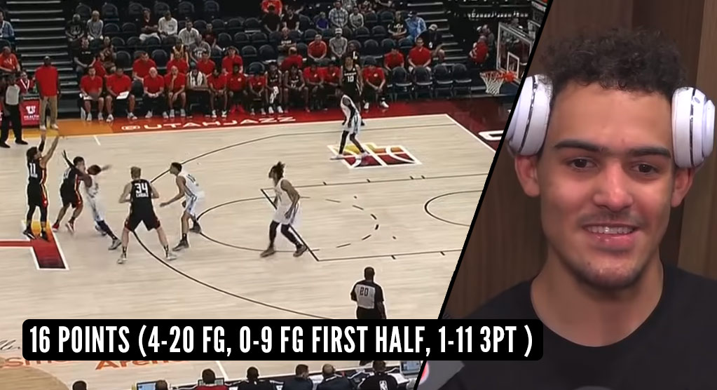 Trae Young's NBA Summer League Debut Started With 2 Airballs & 10 Missed Shots!
