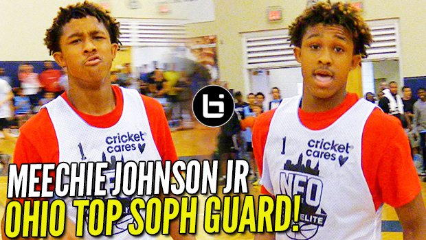 Meechie Johnson Jr. is OHIO's TOP SOPHOMORE Guard! NEO Camp Highlights!