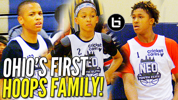 OHIO's FIRST BALL FAMILY: The Johnsons' ARE D1 BOUND! NEO Highlights
