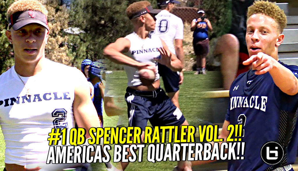 He's America's #1 QB AND a Basketball STAR!! Spencer Rattler QB Skills Vol. 2!!