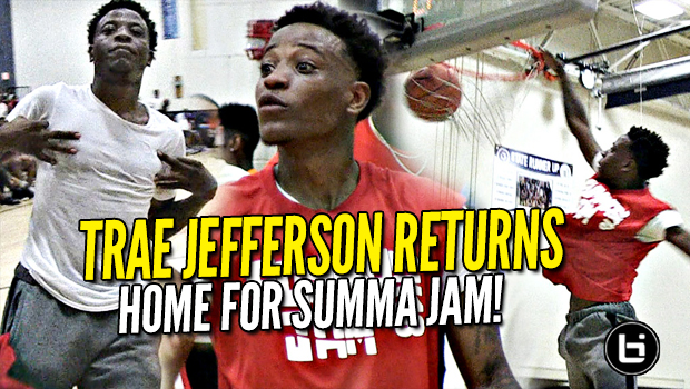 Trae Jefferson IS BACK! Milwaukee Summa Jam Highlights!