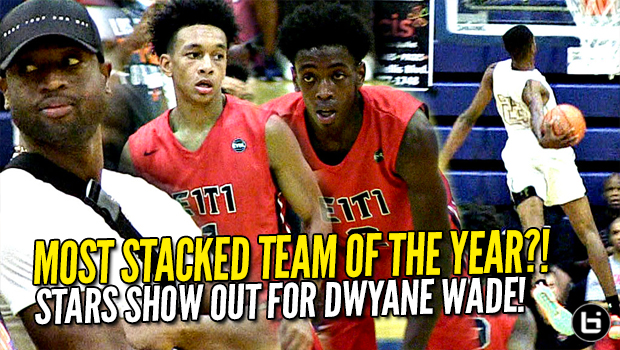 Dwyane Wade Watches Zaire Wade and Most Stacked AAU Team of the YEAR! Tre Mann, Scottie Lewis, Niven Glover GO OFF!
