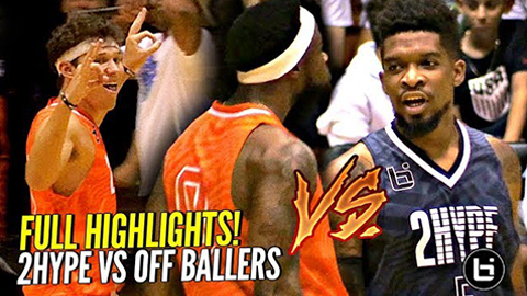 2Hype vs OffBallers Was LIT!! OSN vs CashNasty! Jesser TRIPLE DOUBLE & MVP!! FULL HIGHLIGHTS