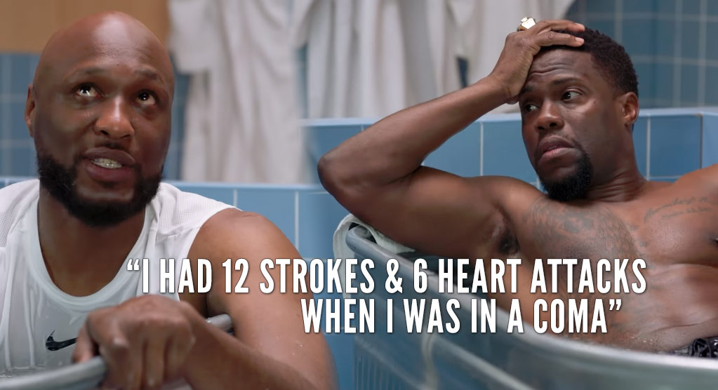 Cold As Balls: Kevin Hart Interviews Lamar Odom!