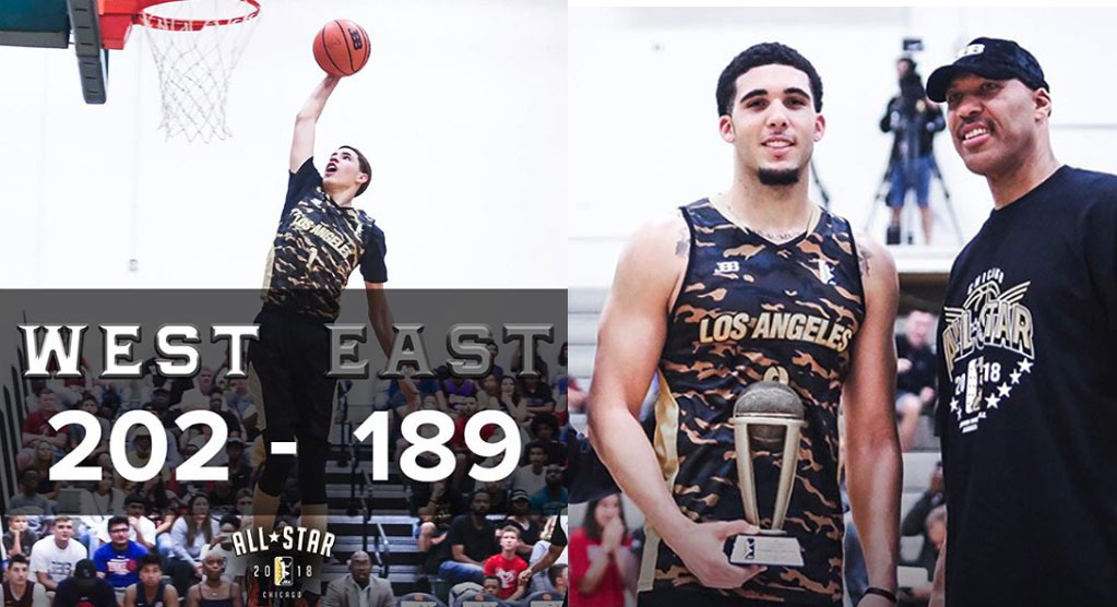 LiAngelo Ball Wins Co-MVP Of JBA All-Star Game