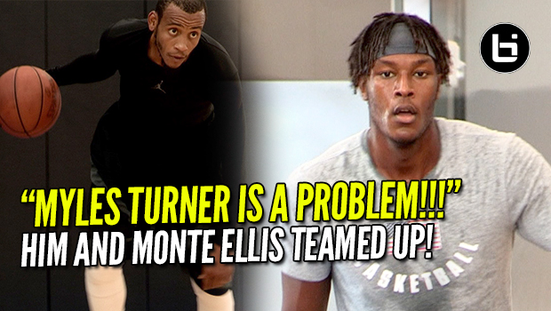 Myles Turner is Gonna Be A Problem Next Season! Destroying Pro Open Run!