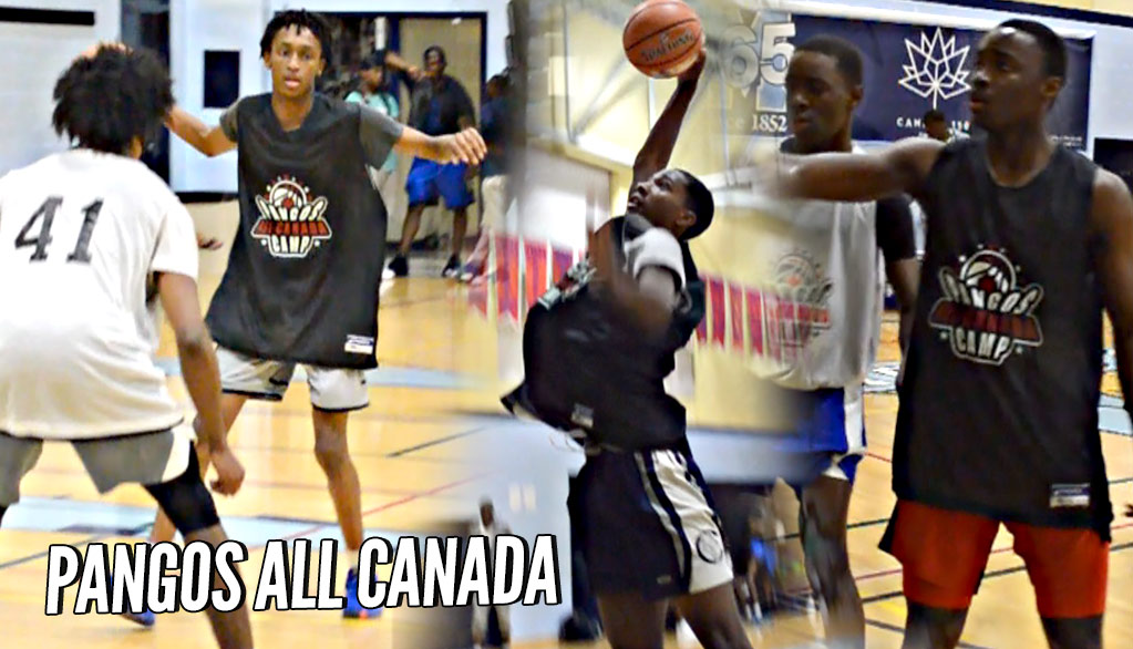 Introducing Taryn Todd and Jevonnie Scott! Pangos All-Canada Camp IS LIT!