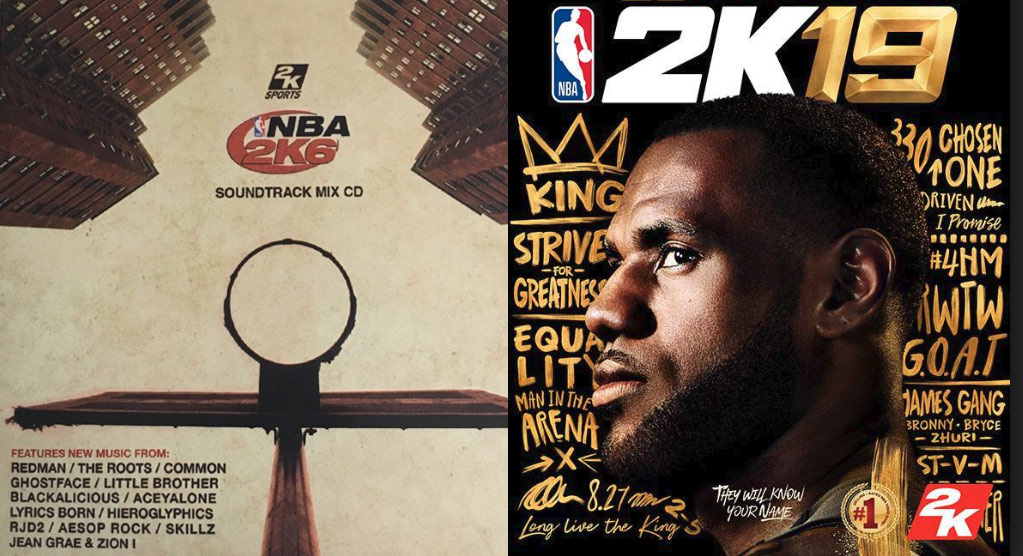 NBA2K Soundtracks (2K5 – 2K19)