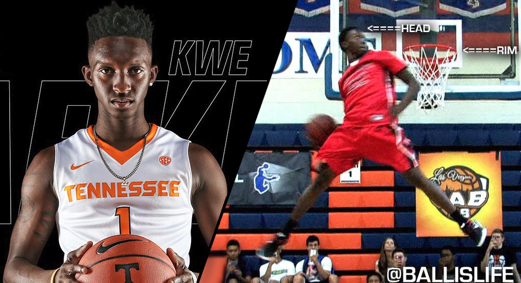 Best High School Dunkers Of All-Time: Kwe Parker in 2014